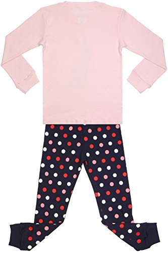 Amazon.com: Girls Rabbit Pajamas Set for Toddler 100% Cotton Bunny Sleepwear Kids Pjs Pink: Clothing