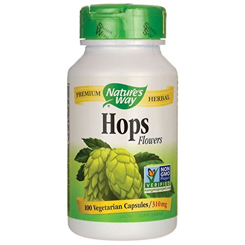 Nature's Way Hops Flowers 100 (Hops Flowers 100 Capsules)