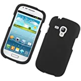 Generic Rubberized Protector Cover Case for Samsung Galaxy S3 Mini - Retail Packaging - Black