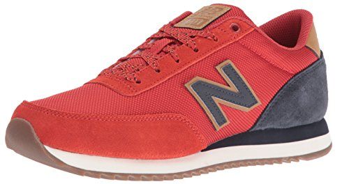 New Balance Men's 501 Fashion Sneakers, Red/Navy, 11 D US