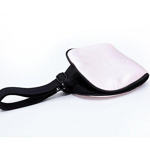 USCAMEL Tranquility 100% Silk Sleep Mask - Very Lightweight and Comfortable - Perfect for Travel and Sleeping - Pink by USCAMEL (Image #2)