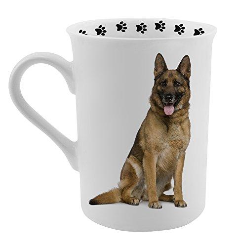 Dimension 9 German Shepherd Coffee Mug, White