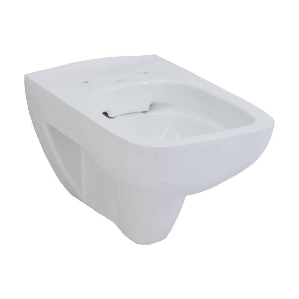 Keramag Renova Nr.1 Plan Tiefsp/ül-WC sp/ülrandlos wandh/ängend wei/ß