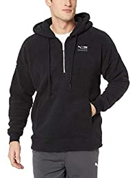 PUMA Mens Downtown Sherpa HZ Top Hoodies & Sweatshirts