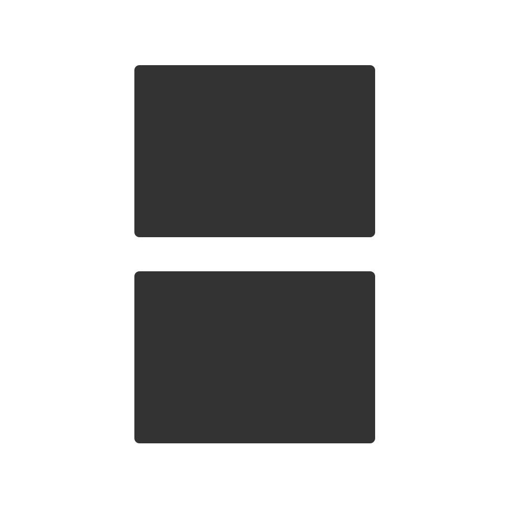 Mehrondo KT104 - Lavagna a gesso, formato DIN A4, 2 pezzi, ideale come lavagna per scrivere o memo