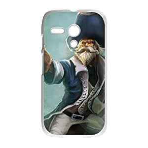 Motorola G phone case White League of Legends Gangplank ZLS2911823