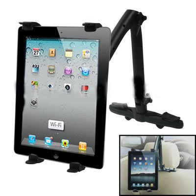 Case Army Universal Tablet  Headrest Grip Cradle Car Mount 3