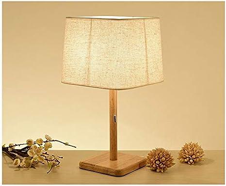 Hasayo Table de Chevet Lampes, Interrupteur à Tirette
