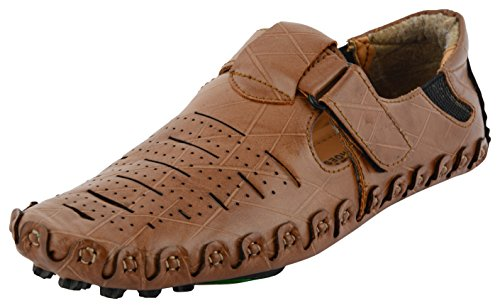 bcb315ce8688fd LeeGraim Men s Synthetic Outdoor Sandals  Buy Online at Low Prices in India  - Amazon.in
