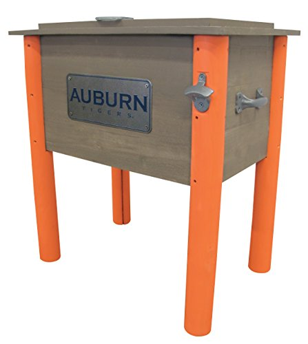 Leigh Country Auburn University Tigers Cooler, 54 Quart, Brown/Blue/Orange
