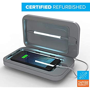 ae029f09885 PhoneSoap 3 UV Cell Phone Sanitizer and Dual Universal Cell Phone Charger