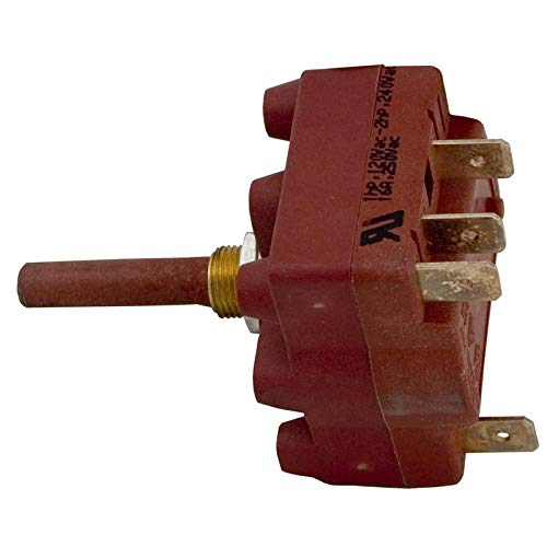 Cal Spas Rotary Switch, SP3T, 16A, 5/16 Hole Size ()