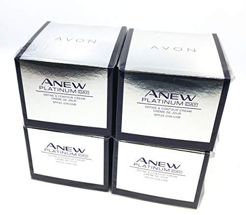 4 x AVON Anew Platinum Day Cream 50ml - 1.7oz SET !