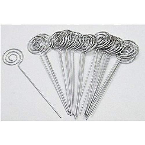 50 piezas DIY anillo de corazón bucle forma de estrella diseñar nuevos Tarjeta de sujetador para cable Nota soporte para...
