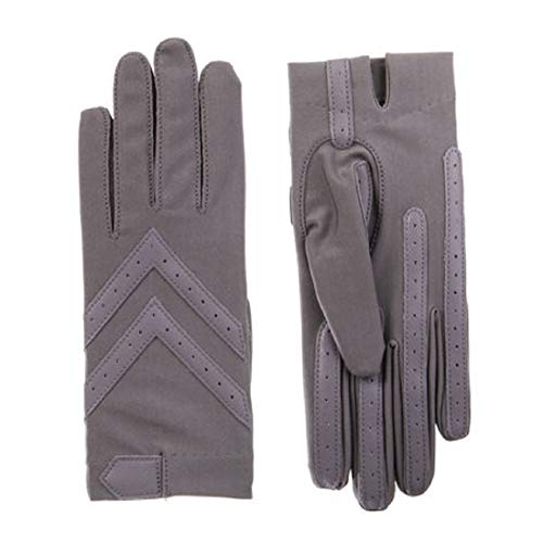 (ISOTONER Spandex Shortie Gloves (Unlined) - A30101 (Dusty Lavendar, L/XL) )