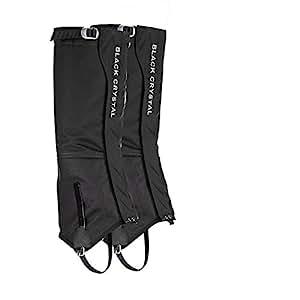 Amazon.com : Black Crystal Hiking Ski Snow Gaiters