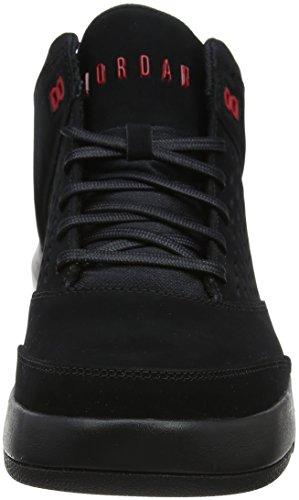 Nike Herren Jordan Vlucht Oorsprong 4 Basketballschuhe Schwarz (zwart / Sportzaal Rood 002)
