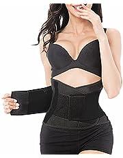 AUPCON Waist Trainer Belt, Waist Trimmer Adjustable, Sweat Sliming Body, Back Support for Men & Women Fitness