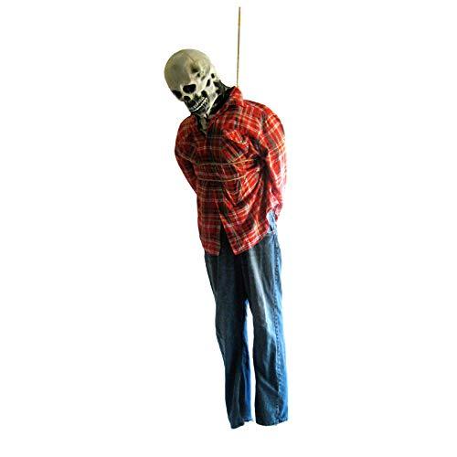RZ Express Studios Life-Size Corpse Hanging Halloween Prop 72