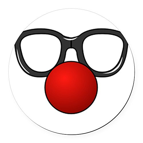 Clown Glasses With Nose - CafePress - Funny Glasses with Clown