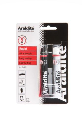 15ml Pack Of 2 Araldite Rapid Epoxy Tubes (Epoxy Chipboard)