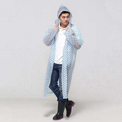 Imperméable 2 Femme Adultes À Air Type 2 Windbreaker Raincoat L'homme couleur Pied ° N Longue Pour Points Enfant Veste Section De Plein Poncho X1xxTpvq