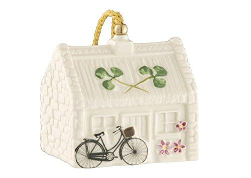 (Belleek Pottery Neil's Cottage Ornament )