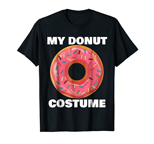 Funny Donut T-Shirt Halloween Costume -