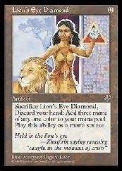 MTG (ENG) ライオンの瞳のダイアモンド(状態:NM)(MIR) ア B07DYWZ98G