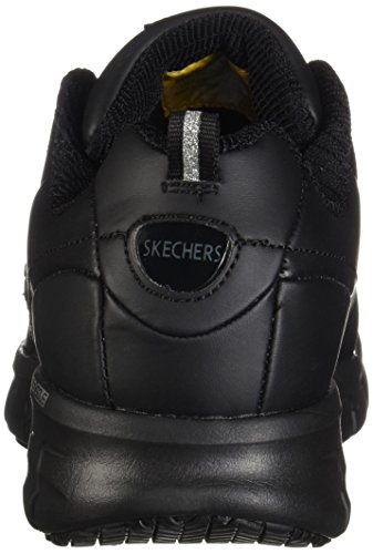 Skechers Track Black Work Trickel Shoes Sure Resistant 76550 Slip Women's r6wqE4Fr