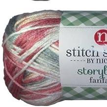 Stitch Studio Yarn by Nicole, Storybook Fanfare (1 Skein) Starberry Milkshake