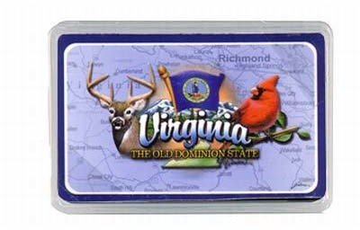 Virginia Playing Cards- Elements [96 Pieces] - Product Description - Virginia Playing Cards- Elements. The Old Dominion State. Plastic Box. Dimensions: 4.5'' X 2.25'' X 0.75''. ...