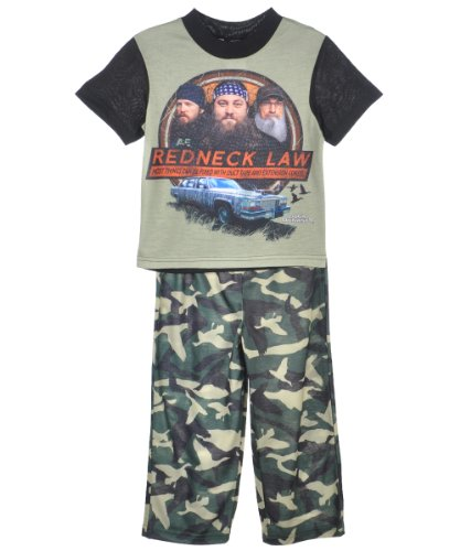 Duck Dynasty Red Neck Law Pajamas for Little Boys (6)