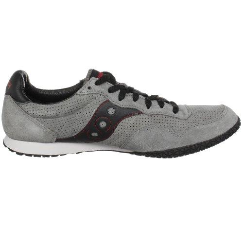 Saucony Originals Heren Bullet Klassieke Sneaker Grijs / Zwart