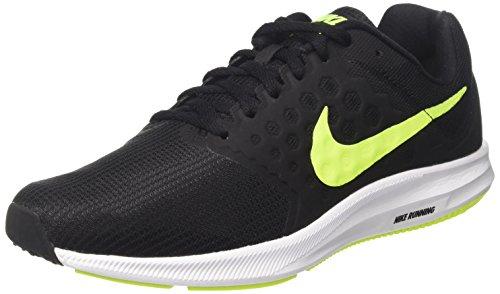 NIKE Mens Downshifter 7 Running Shoe Black/Volt/White FfvcUmd5