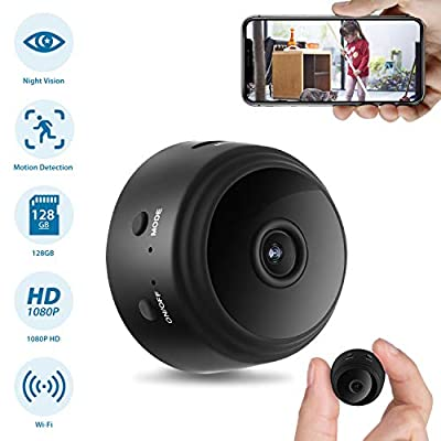 Hidden Spy Camera, Home Security Camera with WiFi, 1080P HD Wireless IP Surveillance Camera with 110¡ã Wide-Angle Lens by BOTOEYE