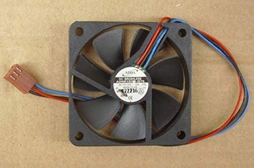 60x60x10mm AD0612HB-G76 12V 0.15A 3Wire 6cm 6010 CPU Cooling Fan