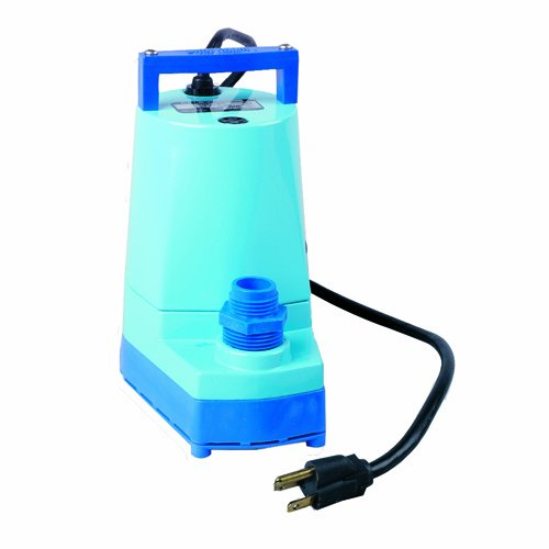 Little Giant 505000 1/6-HP 5 MSP Water Wizard Submersible Utility Pump, 5 Series (5 Msp Submersible Pump)