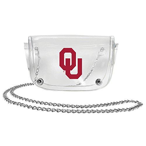 NCAA Oklahoma Sooners Clear Carryall Crossbody ()