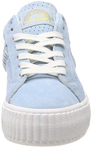 Lt Flame A Gear Blue Blau Damen L Sneaker YzxOTt