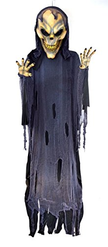 Flying Wings With Prop Reaper (Flying Nightmare Reaper Hanging Prop 12ft HALLOWEEN Haunted House)