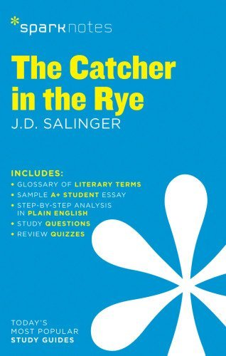 The Catcher in the Rye SparkNotes Literature Guide (SparkNotes Literature Guide Series) by SparkNotes (2014-02-04)