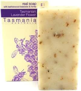 Lavender Flower Soap from Tasmania Australia 100% Natural