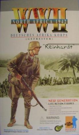 (1/6 Scale World War 2 WWII German Afrika Korps Infantry Reinhardt 12