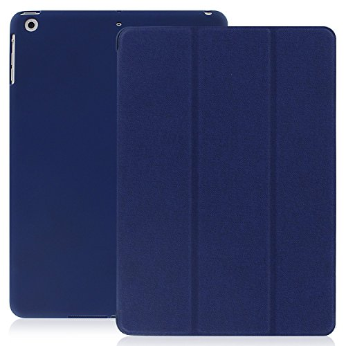 Super Slim Smart Cover Case for Apple iPad Air 1 (Blue) - 2