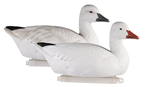 Goose Decoy Paint (Greenhead Gear Pro-Grade Goose Decoy,Snow Goose Floaters/Active 4-pack)