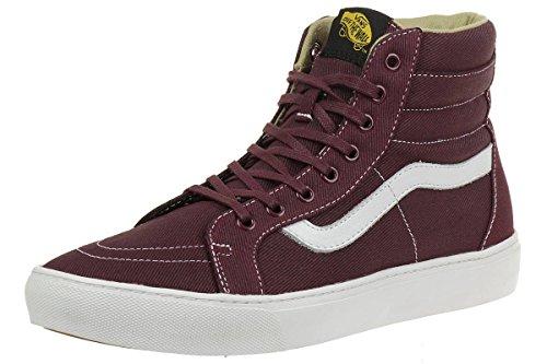 (Vans Men's Sk-8 Hi Shoe Fashion Sneaker Canvas (10))