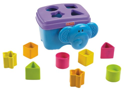 Fisher-Price Growing Baby Elephant Shape Sorter (Fisher Price Growing Baby Elephant Shape Sorter)