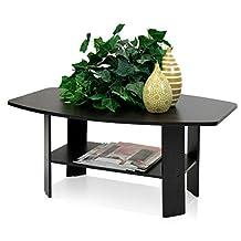 Furinno 10025 (11179EX) Simple Design Coffee Table, Espresso