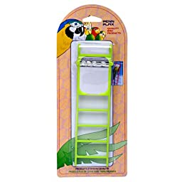 Penn Plax 4-Step Bird Ladder with Mirror
